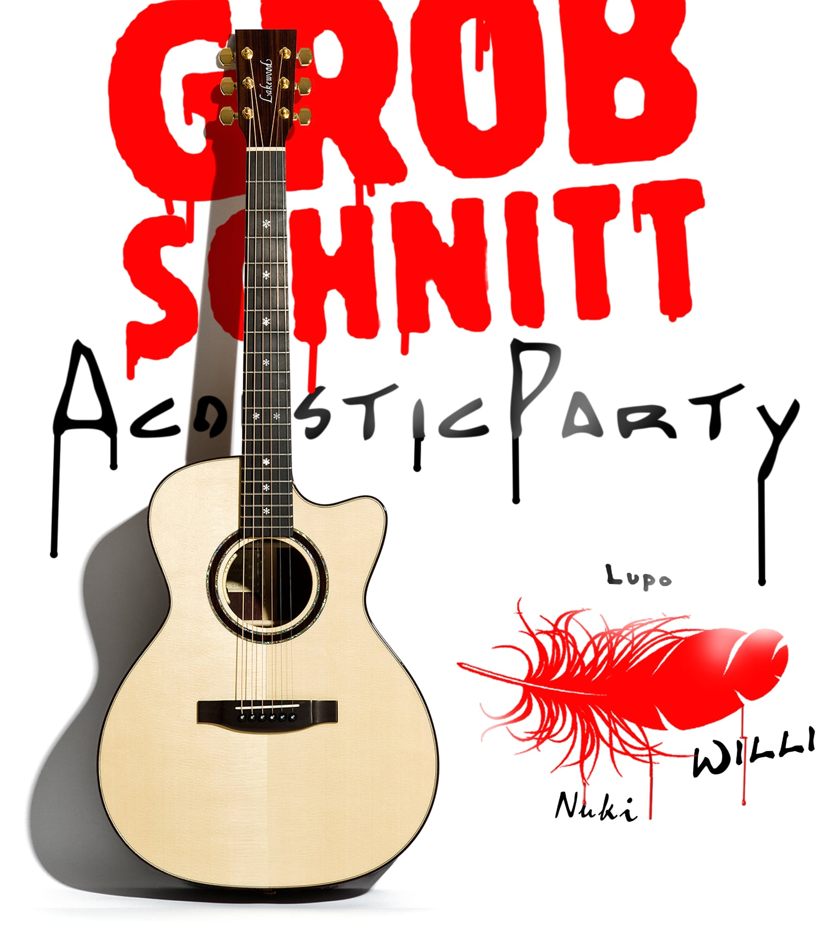 Plakat Grobschnitt Acoustic Party